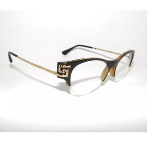 Versace Glasses 3226B Havana and Gold Size 51